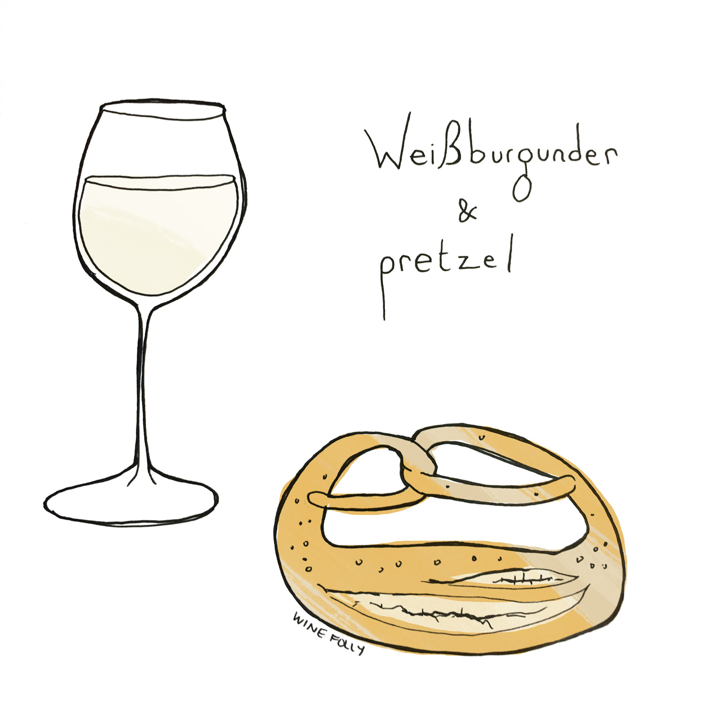 Weissburgunder (aka Pinot Blanc) German wine and food pairing