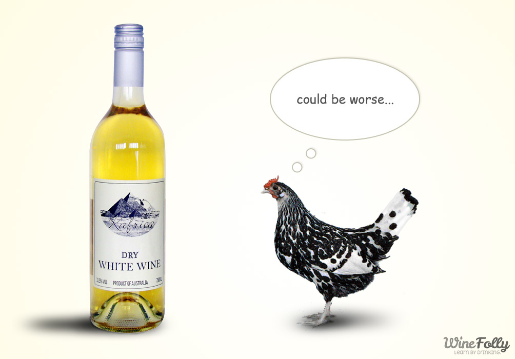 What dry white wine for cooking chicken