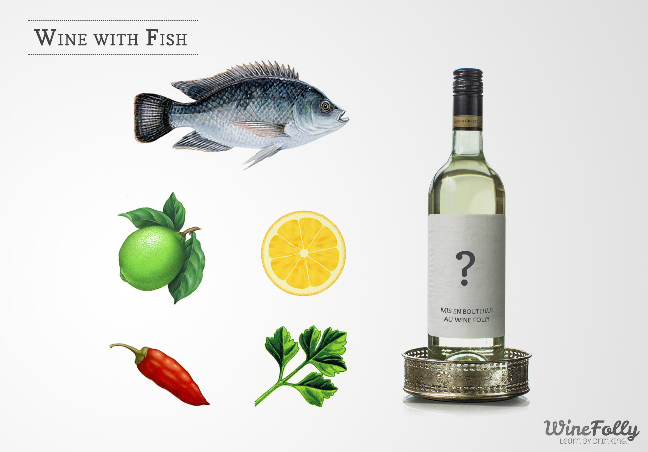Pairing wine with fish