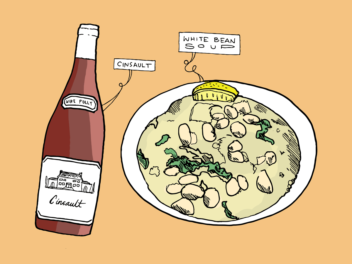 white-bean-soup-cinsault-wine-folly-illustration