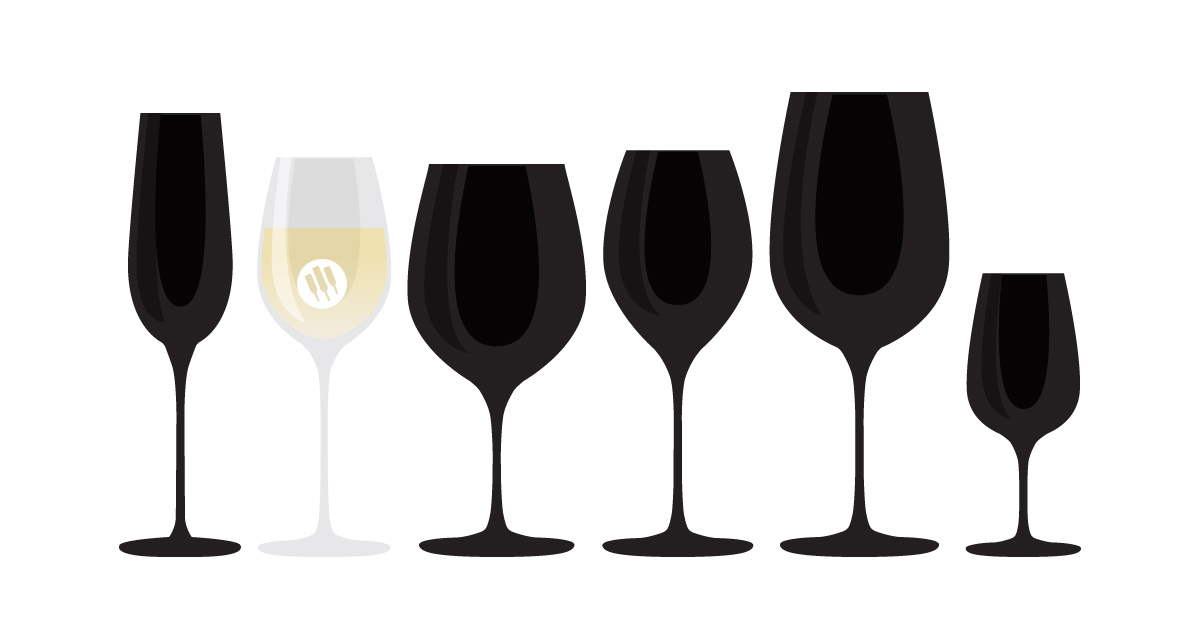 White Wine Glass Illustration - Wine Folly