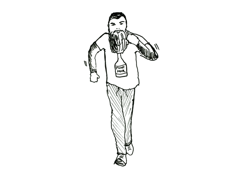 will-run-for-wine-hipster-bearded-man-jogging-illustration
