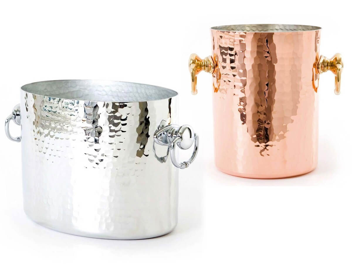 mauviel finest copper champagne buckets