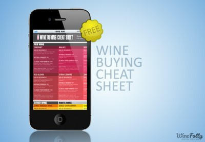 Wine Buying Cheat Sheet 2012 edition