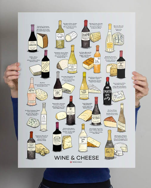 The Age-Old Partnership - Wine & Cheese
