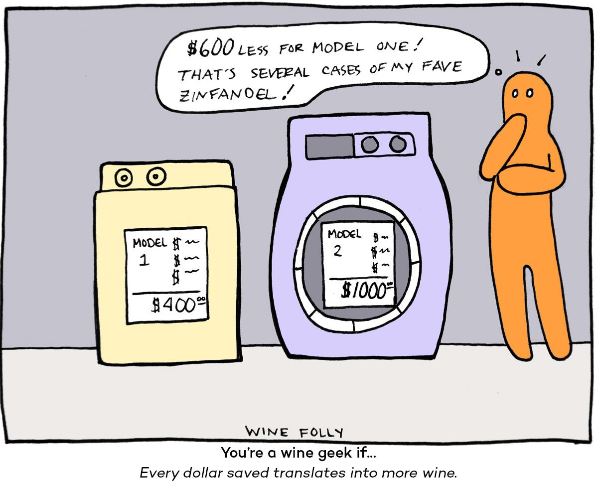 Wine Folly comic money