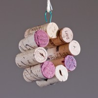 8 Cork Wine Cork Ornament