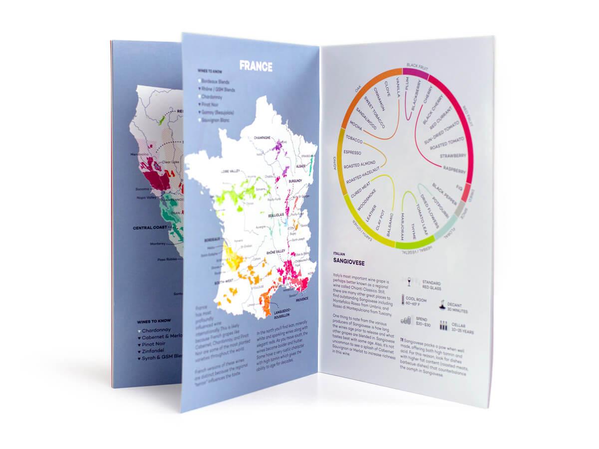 Wine Course booklet interior