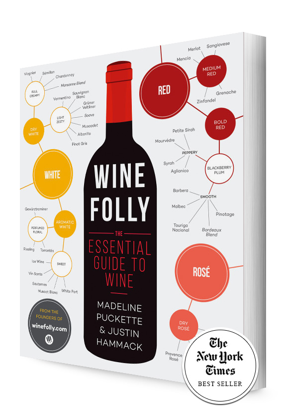 Wine Folly Book Cover Side Angle