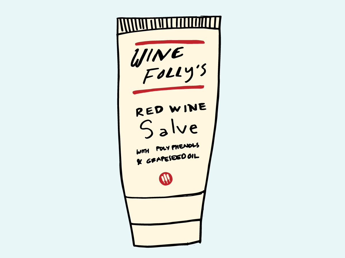 "Wine Folly's Red Wine Salve ""cure-all"""
