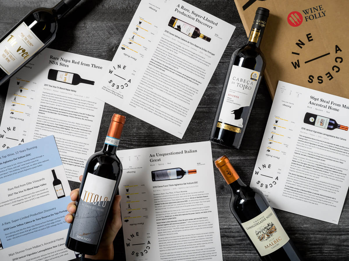 Bold Red Wines with Wine Folly Wine Club