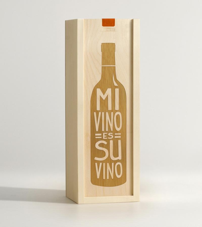 Box for a Bottle Single Wine Box