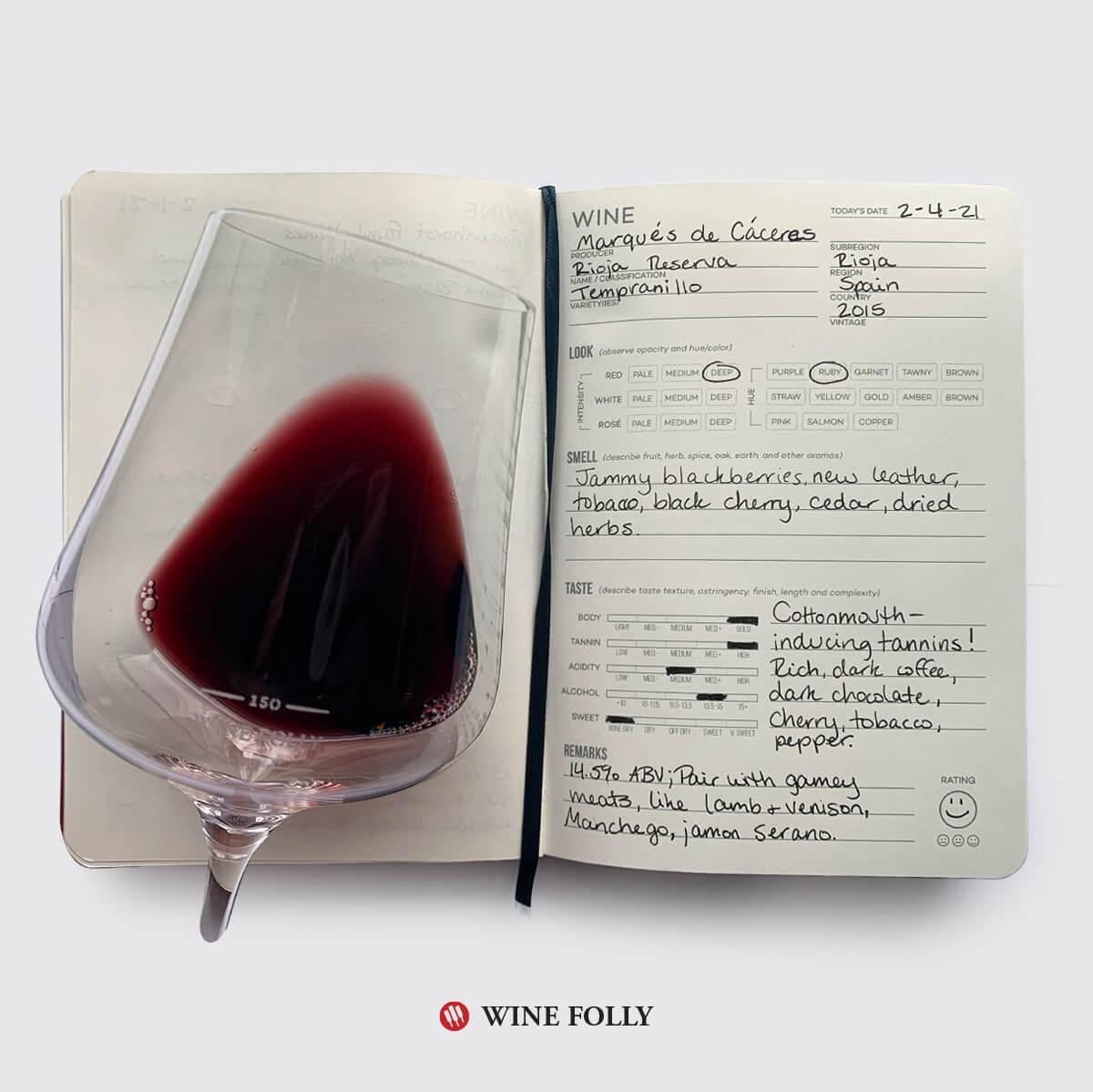 wine-glass-journal-tasting-notes-rioja