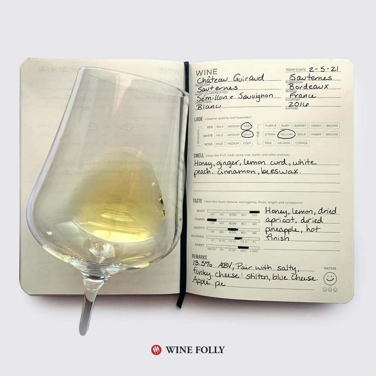 wine-glass-journal-tasting-notes-sauternes