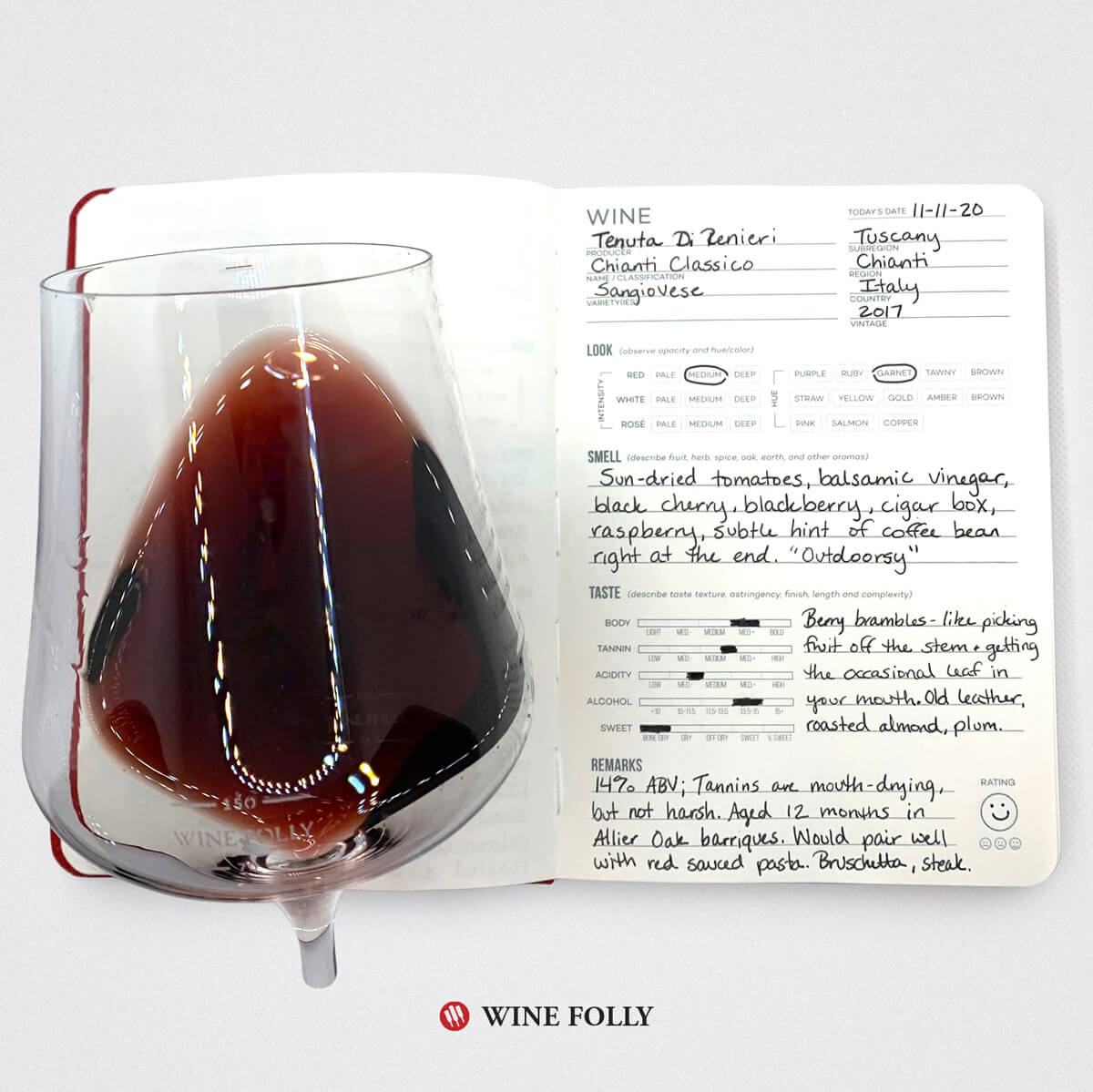wine-glass-over-journal-tasting-notes-sangiovese