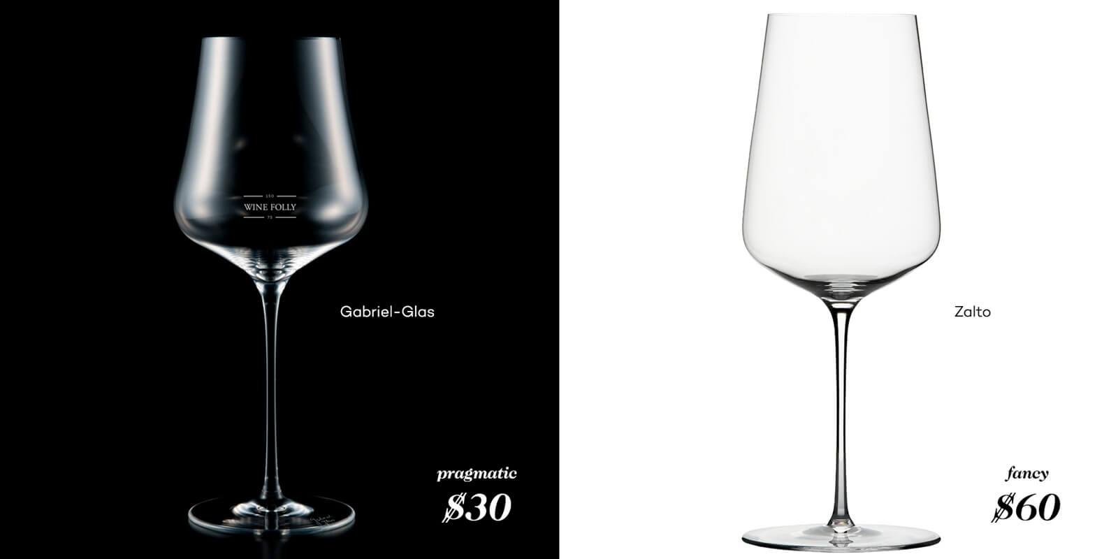 best wine glasses zalto and gabriel-glas