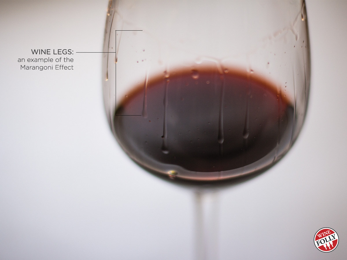 Wine Legs on Port