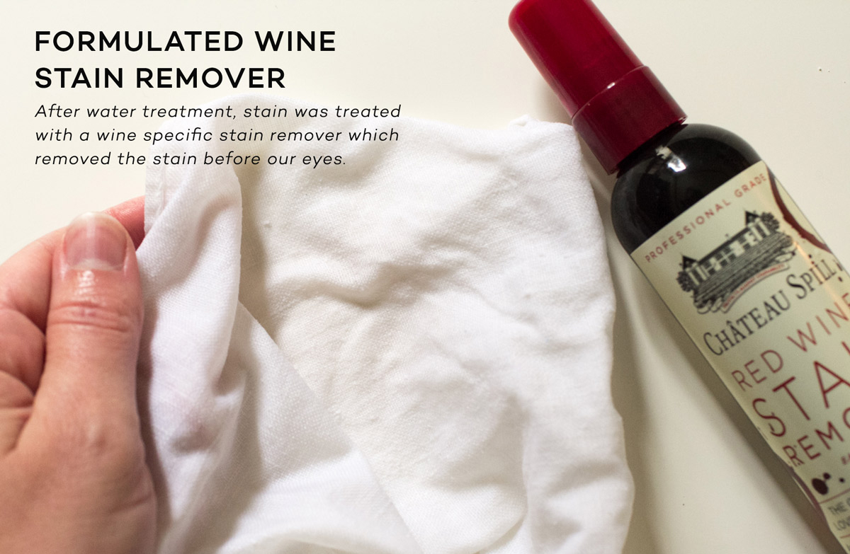Best red wine stain remover option