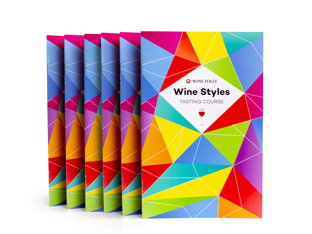 Wine Course Booklets