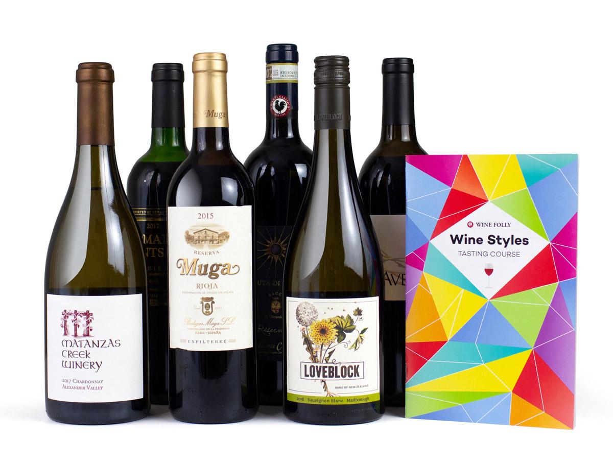 6-Bottle Wine Learning Package - Wine Folly