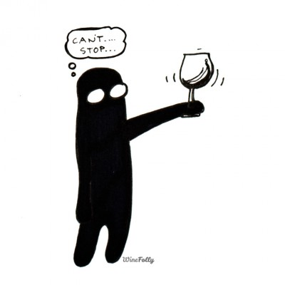 wine swirl comic syndrome