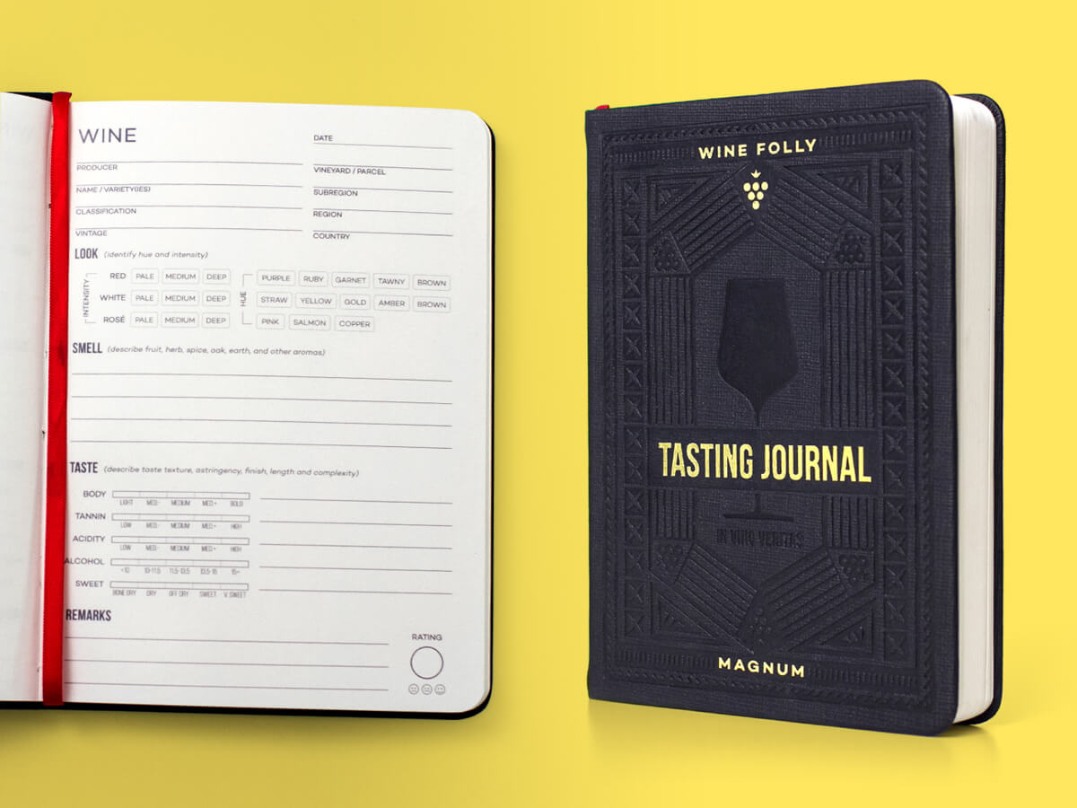 wine tasting journal for wine lovers