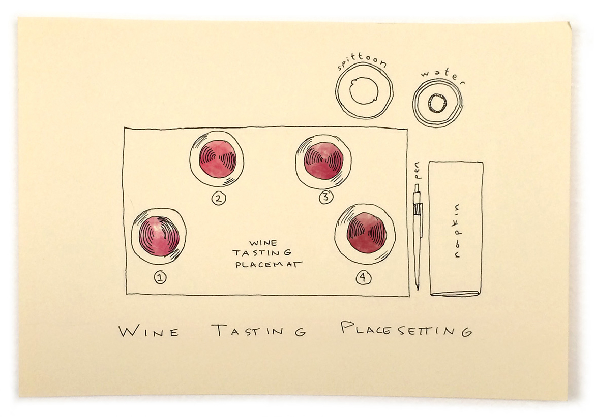 wine-tasting-place-setting