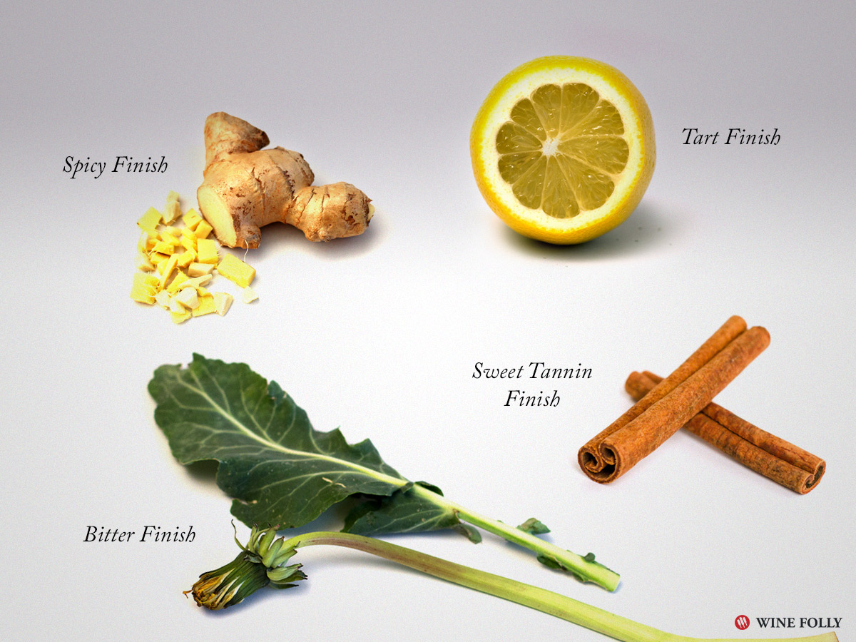 wine-terms-finish-ginger-lemon-cinnamon-dandelion