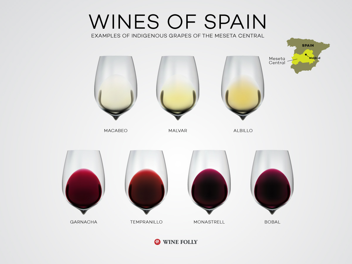 Wines of Central Spain