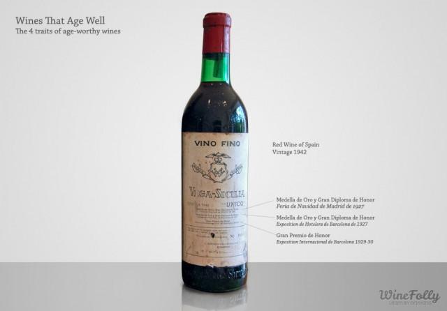"""1940s old vintage wine Vega Sicilia """"unico"""""""