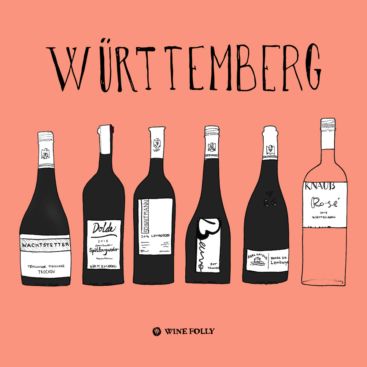 Württemberg German red wines to try